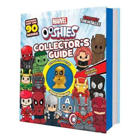 Marvel Ooshies: Collector's Guide   Book   Kmart