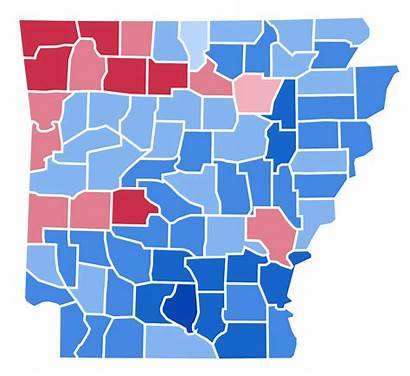 Election 1952 Presidential Arkansas Results Svg States