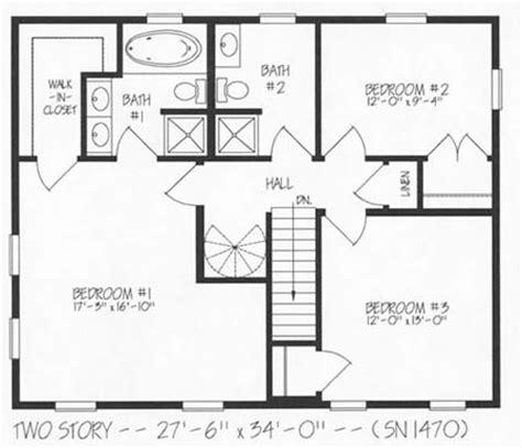 hallmark homes  story floorplan