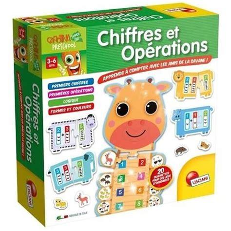 carotte chiffres et opérations jouet achat de jeux