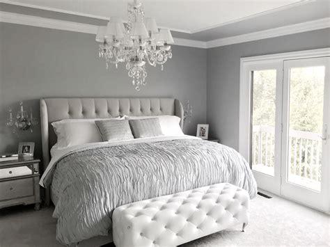 grey bedroom ideas glamorous grey bedroom decor grey tufted headboard 11747   4b241594112a84abdb406f2f3534867f