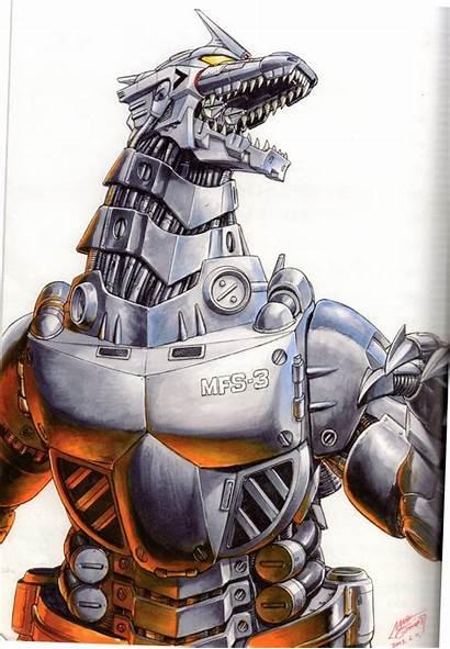 Mechagodzilla Kiryu Godzilla Shinji Millennium Version Series