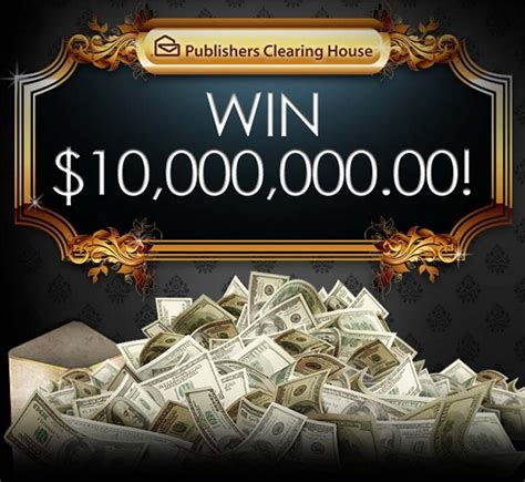 Publishers Clearing House PCH $10 Million SuperPrize No ...
