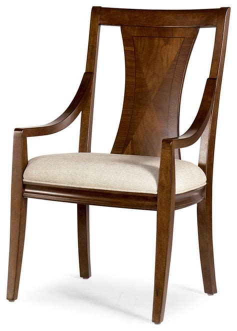 american drew essex arm chair in mink set of 2