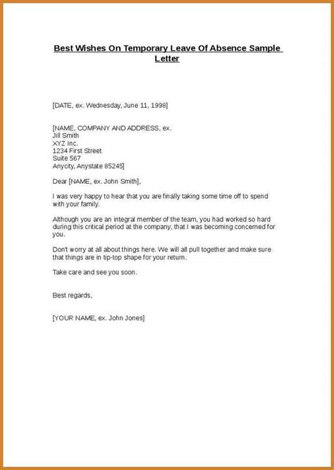 how to write an absent note notary letter