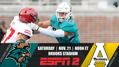 App State vs. Coastal Carolina Betting Odds, Prop Bets ...