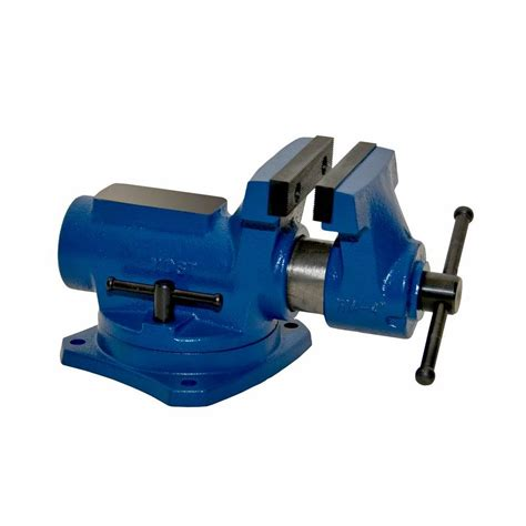 yost   compact bench vise   degree swivel base