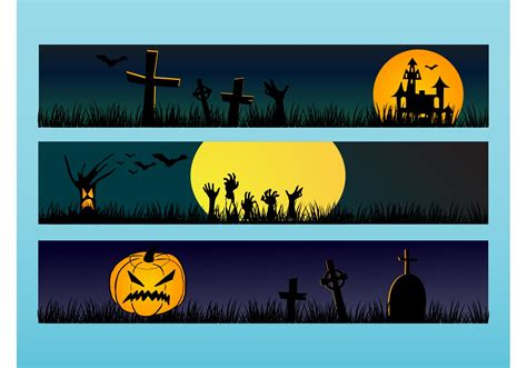 Free halloween banner svg, halloween svg cut file for free, free banner cut file template. Halloween Banners - Download Free Vector Art, Stock ...