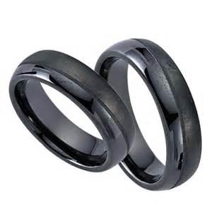 verlobungsringe schwarz schwarz trauringe freundschaftsringe ceramic 20017 schw20017