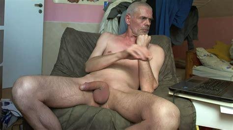 Naked Man Stroking His Cock  Big Cock Porn     xHamster