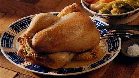 cuisson d une poule au pot poule au pot farcie plat unique raymondmarmiton raymondcuisine
