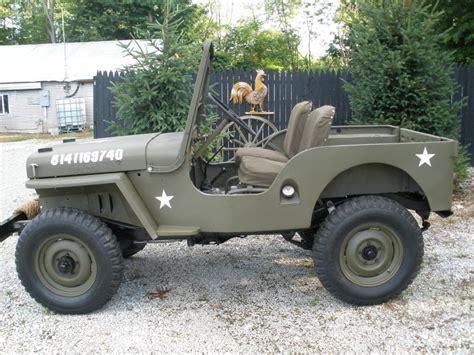 1946 Jeep Willys CJ2A for sale