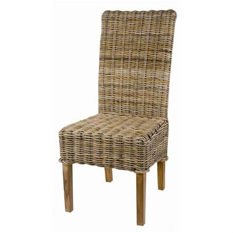 chaises en rotin pas cher chaise rotin pas cher mobilier sur enperdresonlapin