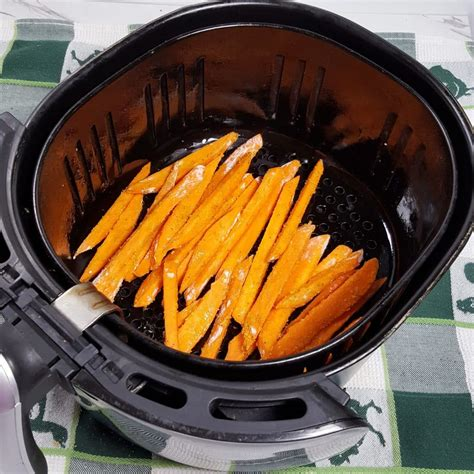 fryer air potato sweet fries crispy potatoes seasoned place into does fried fry recipes cook thisoldgal food healthy heart