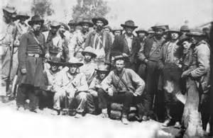 Civil War Confederate Soldiers Camp