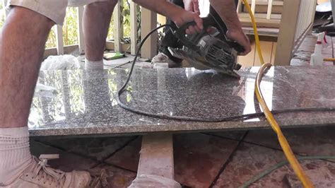 tips for cutting granite with a circular saw