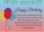 50 + Happy birthday quotes for friends with posters | Word ...