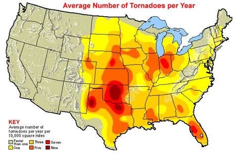 where do tornadoes usually form where tornadoes happen ucar center for science education
