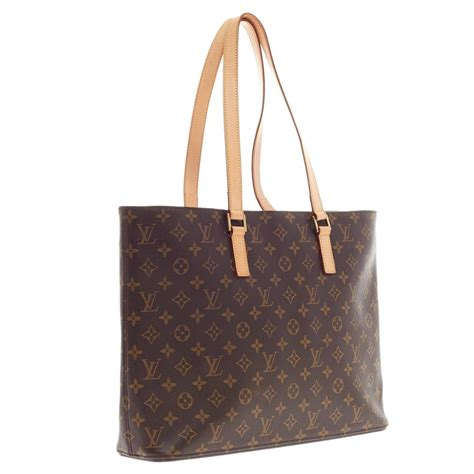 louis vuitton luco tote monogram canvas  stdibs