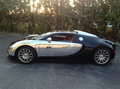 Buggati Veyron Wrapped In Chrome  Car Chat With Auto