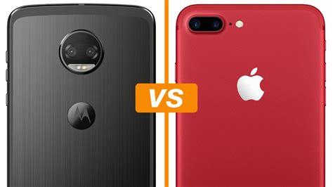 moto z2 vs iphone 7 plus compare os celulares