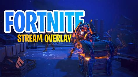 fortnite   overlay template  twitch