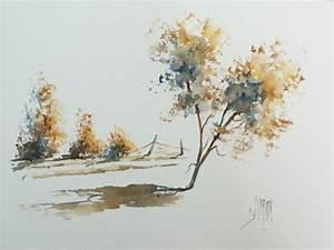 Eponge Pour Peindre : pas pas en fran ais utiliser une ponge naturelle pour peindre des arbres l 39 aquarelle ~ Preciouscoupons.com Idées de Décoration