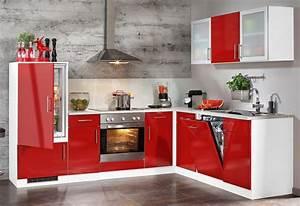 Winkelküche Mit Geräten : rote kuche ideen appetitlich foto blog f r sie ~ Markanthonyermac.com Haus und Dekorationen
