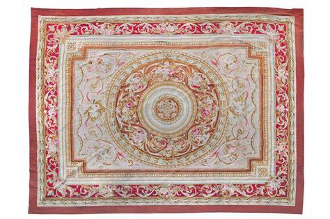 asta tappeti tappeto aubusson francia xix secolo tappeti antichi