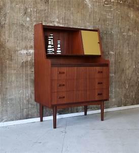 Sekretär Modern Design : teak sekret r stilraumberlin d nische design m bel ~ Watch28wear.com Haus und Dekorationen
