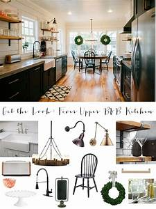 Get The Look Fixer Upper BB Farmhouse Kitchen House Of