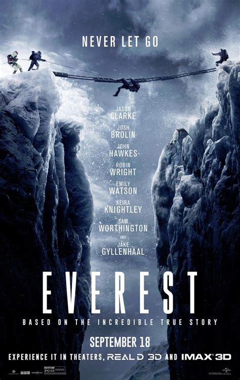 Watch the second trailer for Everest