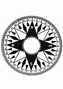 Malvorlage, Kompass