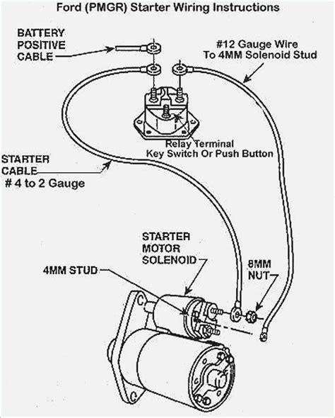 Ford Starter solenoid Wiring Diagram – moesappaloosas.com