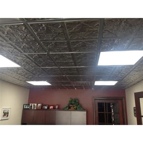 Clear Tinmetal Ceiling Tile