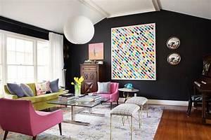 Toile Deco Salon : salon mettre de la couleur sans se ruiner cocon d co vie nomade ~ Teatrodelosmanantiales.com Idées de Décoration