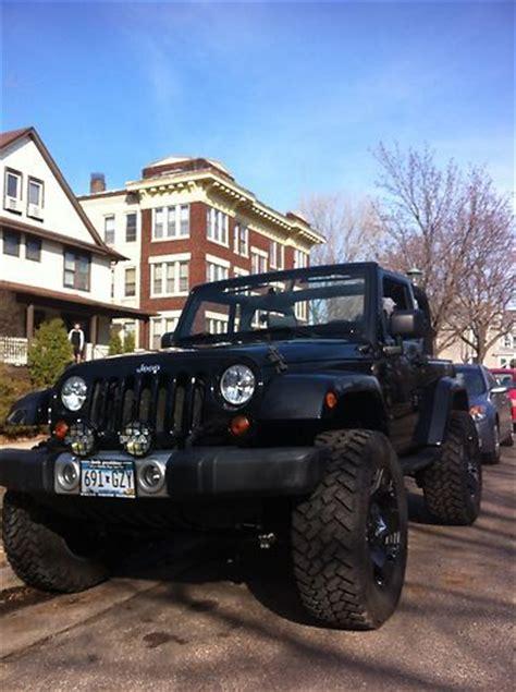 buy   jeep wrangler sahara custom lifted beach
