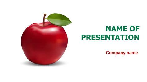 fresh apple powerpoint template