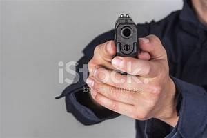 Policeman With Gun Stock Photos - FreeImages.com