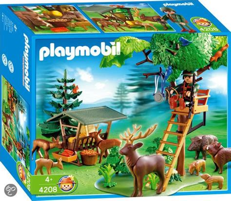 bol playmobil dieren uitkijkpost