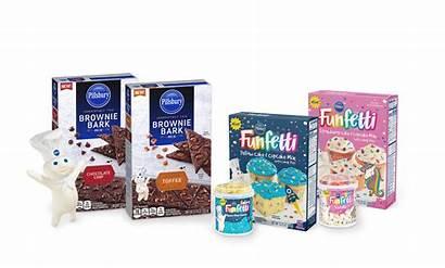Pillsbury Brownie Funfetti Mix Cake Bark Mixes