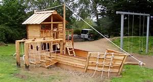 Kinderspielplatz Selber Bauen : spielschiffe f r den garten almh tte naturholzbau ~ Buech-reservation.com Haus und Dekorationen