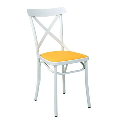 chaise bistrot metal chaise bistrot en metal avec assise tapissee cmg 15322r