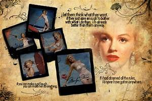 Marilyn Monroe Collage by The-Dragoness on DeviantArt