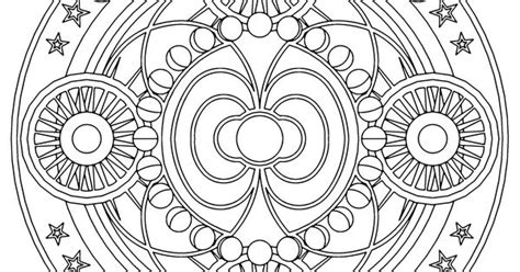 Fascia Geometry Coloring Pages