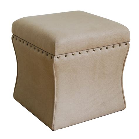 where to buy ottomans homepop cinch upholstered storage cube ottoman reviews