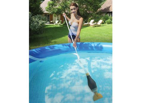 balai piscine hors sol balai aspirateur manuel pour piscine hors sol skooba vac