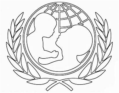 Unicef Coloring Pages Nations United Cas 為孩子們的著色頁