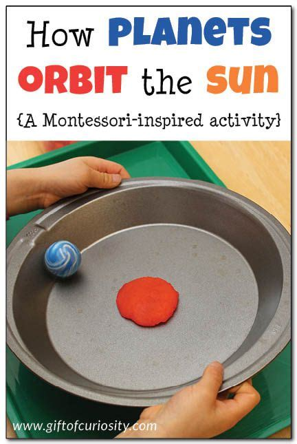 how planets orbit the sun a montessori inspired activity 270 | 6d47448c44b1daa2a7ecaa55b8a0169e