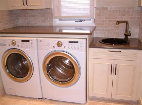 Best Sink Material For Laundry Room by Simplifying Remodeling Designer S Touch 10 Tidy Laundry